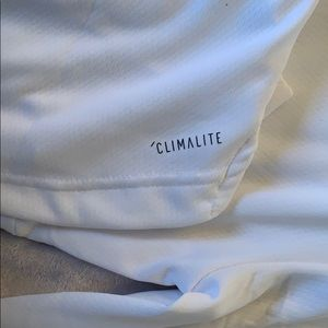 adidas Sweaters - Adidas white climalite pull over